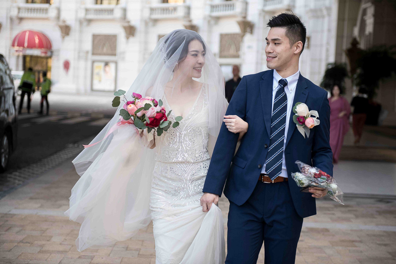 澳門銀河酒店及望德聖母堂 : 澳門婚禮攝影